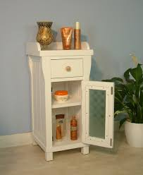 Small White Bathroom Cabinet Small Cabinet With Doors That Transform The Furniture