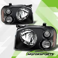 nissan frontier halo headlights for 2001 2002 2003 2004 nissan frontier factory style black