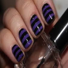 15 purple black nail designs