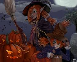 1280x1024 halloween witches desktop pc and mac wallpaper