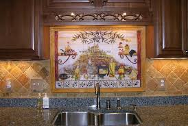 tile murals for kitchen backsplash tile backsplash kitchen tiles murals ideas