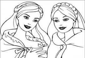 barbie princess november coloring pages kids coloring point