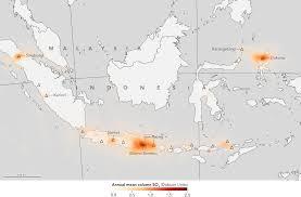 data map global maps of volcanic emissions use nasa satellite data nasa
