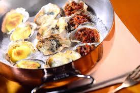 cuisiner les huitres food cuisine du monde recette d huîtres gratinées au