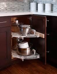 30 Corner Drawers And Storage Solutions For The Modern Kitchen | design ideas turn to a lazy susan for smart corner solutions 30