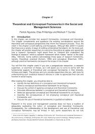 thesis acknowledgement sample pdf theoretical and conceptual frameworks in the social and management theoretical and conceptual frameworks in the social and management sciences pdf download available