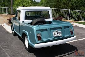 jeep jeepster 2015 kaiser jeep jeepster commando pickup 225v6 new paint ownership