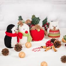 christmas knitting patterns loveknitting
