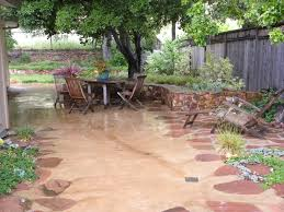 outdoor patio ideas on a budget design also concrete trends