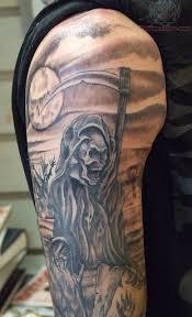 ghost ship tattoo on rib