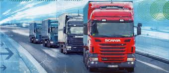 a forward step for platooning scania group