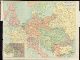 World War 1 Europe Map by The Daily Telegraph War Map Of Europe No 1 Digital Commonwealth