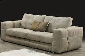 richmond contemporary leather sofa by gamma arredamenti