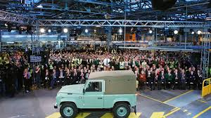 land rover experience defender land rover design boss in pre emptive new defender defence