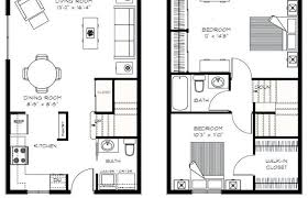 two apartment floor plans two apartment floor plans luxury 2 bedroom plan designs modern