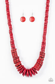 red necklace accessories images Paparazzi accessories shore thing red jpg