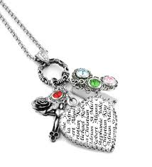Mothers Necklaces With Children S Names 104 Best Personalized Mother U0027s Jewelry Images On Pinterest