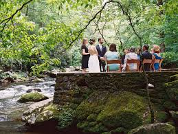 smoky mountain wedding venues an intimate wedding in the great smoky mountains national park