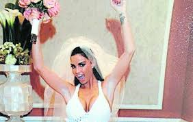 katie price is selling her wedding dress on ebay the irish news