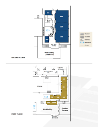 Kennedy Center Floor Plan by Meeting Rooms