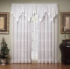Sheer Curtains With Valance Sheer Curtain Valances Viendoraglass