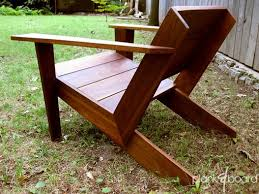 custom made modarondack modern adirondack chair by plank u0026board