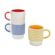 Design Mug Op Art Mug Set Moma Design Store