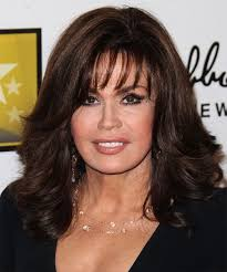 marie osmond hairstyles feathered layers marie osmond hairstyle new hair pinterest marie osmond dark