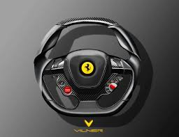 ferrari motorcycle vilner ergonomic and sport steering wheels ferrari