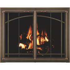 fireplace door glass replacement 38 best fireplace screens images on pinterest fireplace screens