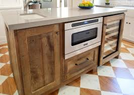 Kitchen Wine Cabinets 24 Built In Wine Cooler Undercounter Wine Refrigerator Teak Wood