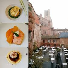 le bruit en cuisine albi view from restaurant window the deck is open on warmer seasons