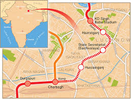 Map Of Twin Cities Metro by Lucknow Begins Metro Tbm Tunnelling