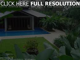 Tropical Backyard Design Ideas Plunge Pools For Small Backyards Home Outdoor Decoration