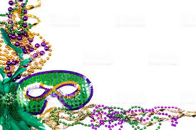 green mardi gras mask mardi gras background purple gold green mask stock photo