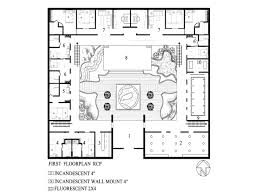 modern house plans with photos floor plans with courtyard in the middle alovejourney me