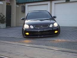 lexus gs yellow fog lights my first photoshoot probaby my first time exposing my gs by