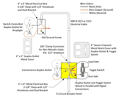 switch combo wiring diagram a light and outlet mesmerizing 3