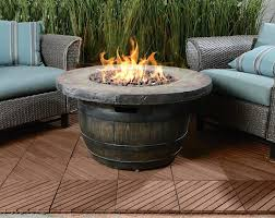 Gas Firepit Tables Outdoor Log Sets Pits Coffee Table Wonderful Dining With Pit