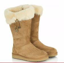 s ugg australia plumdale charm boots ugg australia zip suede mid calf s boots ebay