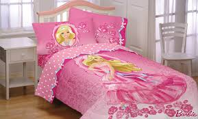 amazon com mattel barbie twin bed comforter walking on roses