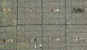 Mexico City Neighborhood Map by Landscape Morphology In Mexico City