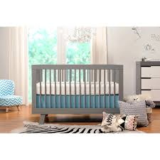 Convertible Crib With Toddler Rail Babyletto Hudson 3 In 1 Convertible Crib With Toddler Rail Grey