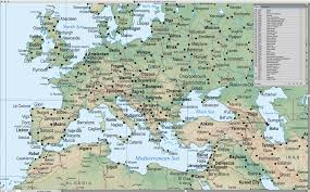 Mc Maps Digital World Terrain Map In Adobe Illustrator With Photoshop