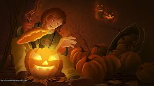 halloween pumpkin backgrounds desktop animated halloween wallpapers group 58