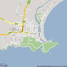 map port map of port hotels accommodation