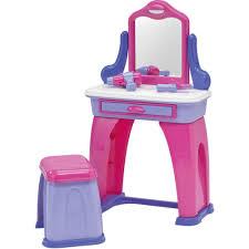 Dress Up Vanity Play Vanity Sets For Little Girls Pretend Dress Up Makeup Table