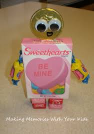 candy robot valentines making memories with your kids