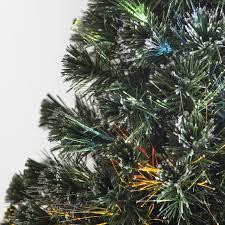 fiber optic firework evergreen christmas tree hayneedle
