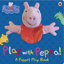 peppa pig halloween peppa pig play with peppa hand puppet book
